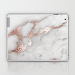 Rose Gold Marble Laptop & iPad Skin