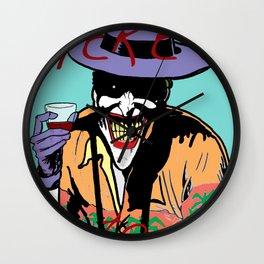 killing joker quote Wall Clock