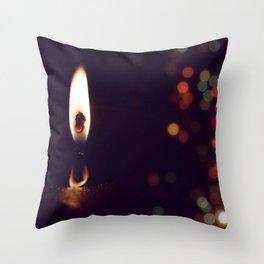Holidays Spirit Throw Pillow