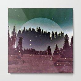 To Run With the Fireflies Metal Print