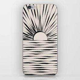 Minimal Sunrise / Sunset iPhone Skin