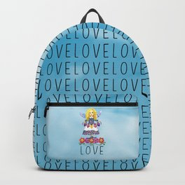Angel Love (Turquoise) Backpack