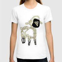 lamb T-shirts featuring Lamb by Knot Your World