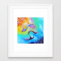 mermaids Framed Art Prints featuring Mermaids by Marionette Taboniar