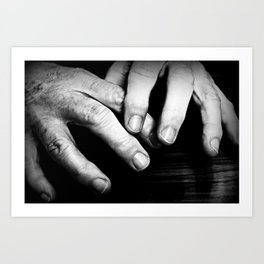 Clean Hands Art Print