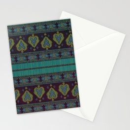 Persian Carpet Teal Stationery Cards