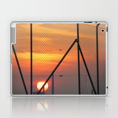 Caged Sunset Laptop & iPad Skin