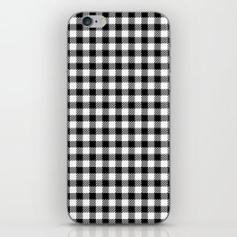 vichy gingham pattern iPhone Skin