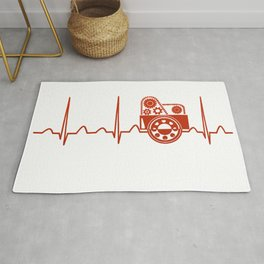 Manufacturing Engineer Heartbeat Rug