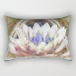 Lotus Pyramid Rectangular Pillow