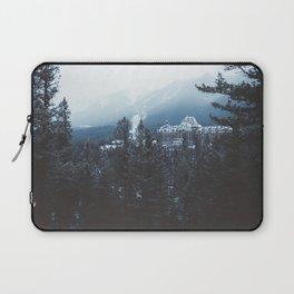 Snowfall in Banff Laptop Sleeve
