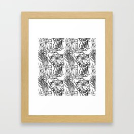 Tillandsia Tile Framed Art Print