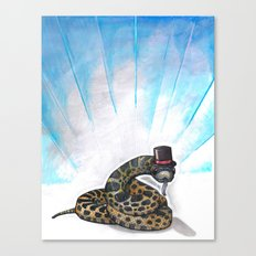 Ssssseriously Canvas Print