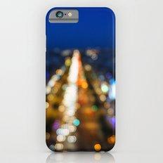 Paris Nighttime Traffic Slim Case iPhone 6s