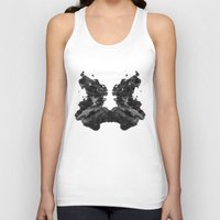 rorschach Tank Tops featuring Rorschach by greta skagerlind