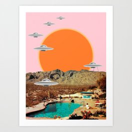 They've arrived!  Art Print