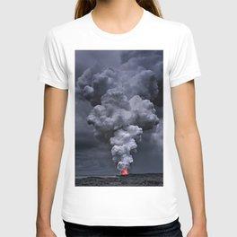 Kilauea Volcano at Kalapana 3e T-shirt