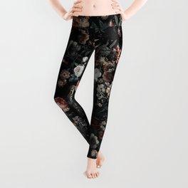 Skull and Floral pattern Leggings