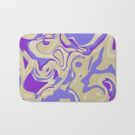 Acrylic Flow #3107 - Blu Berry Mofin Bath Mat