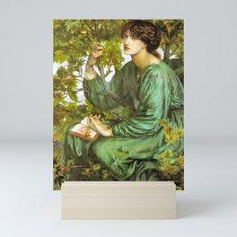 The Daydream 1880 Pre Raphaelite Beauty Mini Art Print