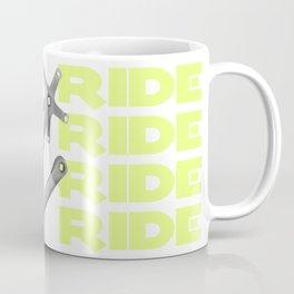 Bike Crankset Coffee Mug