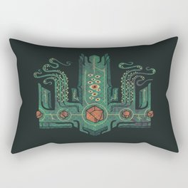 The Crown of Cthulhu Rectangular Pillow