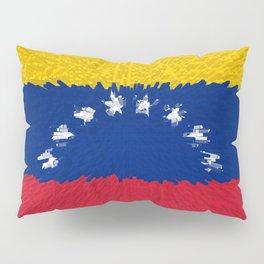 Extruded flag of Venezuela Pillow Sham