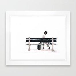 Forrest Gump Framed Art Print