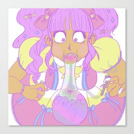 Lo-Weed-A Canvas Print
