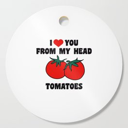From My Head Tomatoes Cutting Board