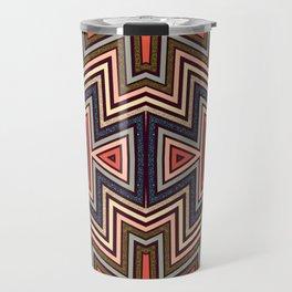 Aztec Symmetry Travel Mug