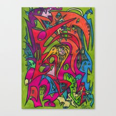 Amazing Brooks Canvas Print
