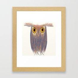 The Odd Owl Framed Art Print