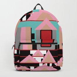 Postmodern City Skyline Backpack