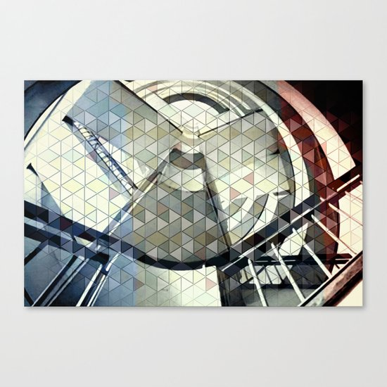 Well of dreams Canvas Print