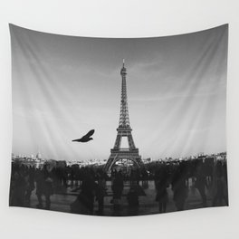 Eiffel Tower (Paris, France) Wall Tapestry