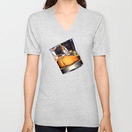 Whisky on the Rocks Unisex V-Neck