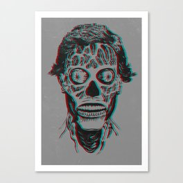 They Live 3D Canvas Print
