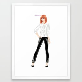 Joe Fresh FW13 Framed Art Print