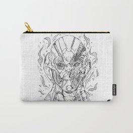 Battle damaged Ultron Carry-All Pouch