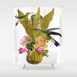 Magic Garden VII Shower Curtain