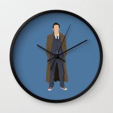 David Tennant as Dr Who Wall Clock