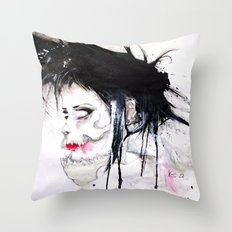 Crimes crimes crimes Throw Pillow