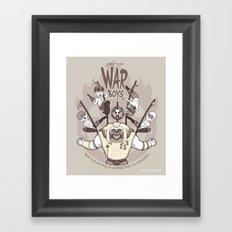 Join the War Boys! Framed Art Print