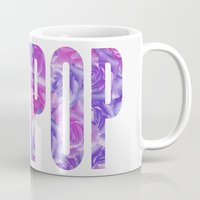 artpop Mugs featuring ARTPOP by Philippa K