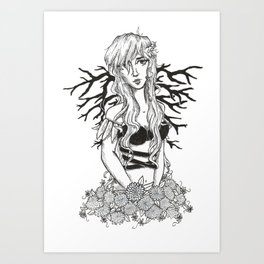 Branched Wings Art Print