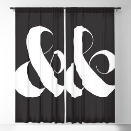 Ampersand Blackout Curtain