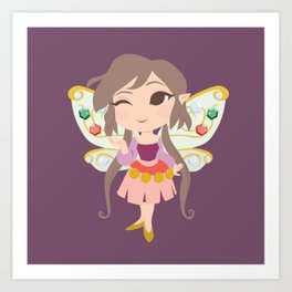 Trinket Fairy Art Print
