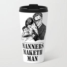 Kingsman Harry Hart: Manners Maketh Man Travel Mug