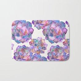 Rosette Succulents – Galaxy Palette Bath Mat